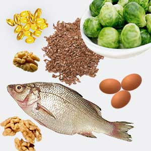 omega 3 oils include fish and some nuts and vegetable oils